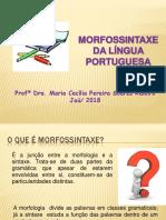 Morfossintaxe Da Língua Portuguesa