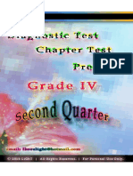 Second Quarter Diagnostic Tests