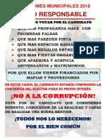 NO A LA CORRUPCIÓN