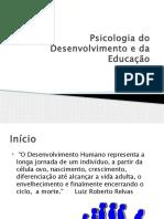 Psicologia do Desenvolvimento e da Educação