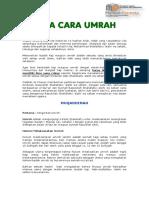 Tata Cara Umroh 081349599002 Travel Umroh Balikpapan