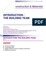 Did154 Introduction  BUILDING CONSTRUCTION