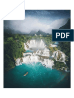 Gan Gioc Waterfall in Vietnam