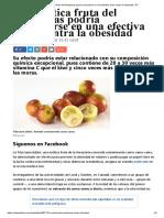 Una Exótica Fruta Del Amazonas Podría Convertirse en Una Efectiva Arma Contra La Obesidad - RT