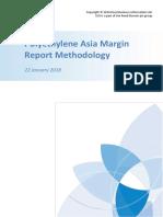 Polyethylene Asia Margin Report Methodology 22 January 2018
