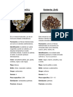 minerales informe