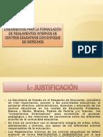 Lineamientos Reglamentos Internos c.e