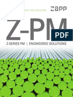 Z-PM Tool Steel Selection