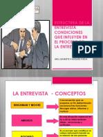 3° SESIÓN-TÉCNICAS ENTREVISTA- ESTRUCTURA DE LA ENTREVISTA
