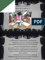 La Educación Domiciliaria y Hospitalaria