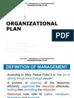 Ent300_module10 - Organizational Plan