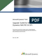 Upgrade Toolkit for Microsoft Dynamics NAV RO 5.0 SP1