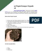 Cara Membuat Pupuk Kompos Organik Dengan Mudah.docx