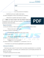 Colocação Pronominal II - 002714