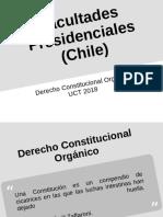 Facultades Presidenciales Chile