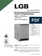 LGB6 gas fired  boiler
