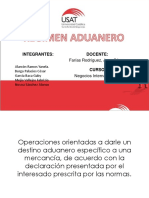 Regimen Aduanero 1