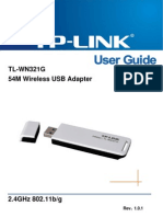 TL-WN321G User Guide