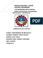 Informe 1 Lamiando de Chapas