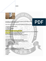 Forensic Medicine - insecticide lecture DUHS