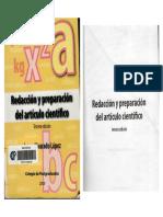 Redaccion y preparacion de articulo cientifico