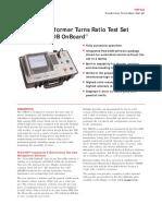 Megger Ttr 330 Turns Ratio Tester