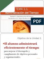 Tema1 1 Unidad1administraciondeltiempo 130118133357 Phpapp01