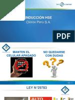 Induccion HSE Clorox