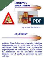 Conservacion x Aditivos Alimentarios 1