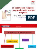4. La experiencia religiosa - La naturaleza del sentido religioso (1).pptx