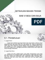 PENGETAHUAN BAHAN TEKNIK BAB 6.ppt