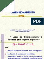 2 - DIMENSIONAMENTO Drenagem total