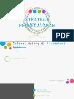 Strategi Pembelajaran Modul 1&2