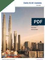 Daily Malaysia Klse Stock  Report 30th Oct 2018