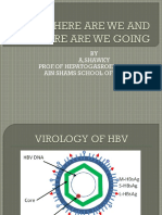 Hbv Where Are We and Where Are We
