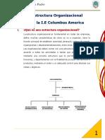 Monografia de Diseño Organizacional Colegio Columbus