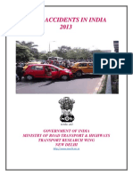 Mort 2013 Road Accidents