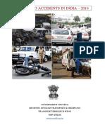 Mort 2016 Road Accidents