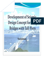 Development of Seismic Design Concept for Long Bridges With Tall Piers [Compatibility Mode]