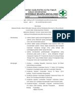 VIII 81. SK Kepala Puskesmas Untuk Semua Pihak Yang Terlibat Dalam Upaya Peningkatan Mutu