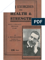 A. Wallace-Jones - 50 Exercises for Health and Strenght