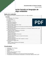UT3 -Guía Didáctica - Programación Basada en Lenguajes de Marcas Con Código Embebido