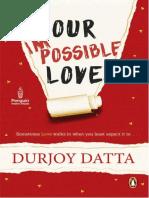 Our Impossible Love - Durjoy Datta