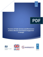 Provision of Public Services and Effectiveness of Ethnic Minority (Azerbaijani) Engagement in Georgia