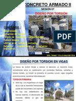 Diseño Por Torsión