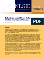 Palestinian-Israeli Direct Talks