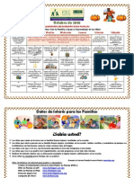 PB Parent Resource Calendar Oct 2010 - Spanish
