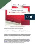 Harga ACP Seven Terpasang 2018 Hp. 0812 3353 5597