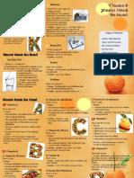 Leaflet Vitamin Dan Mineral Untuk Ibu Hamil
