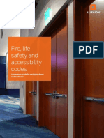 Allegion Fire Life and Safety Code Book Mtd